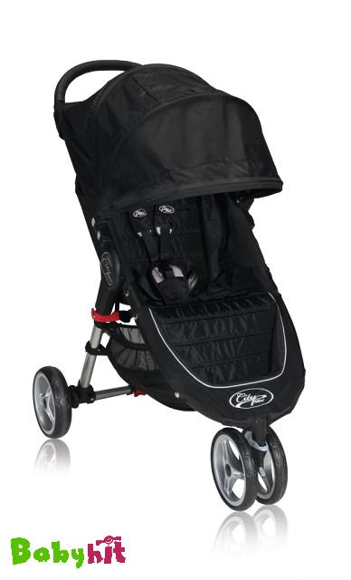 Kočárek Baby Jogger City Mini - Black/Grey