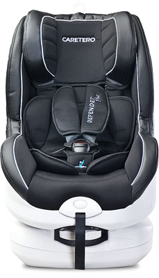 Autosedačka Caretero Defender Isofix Plus - Black