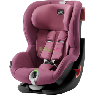 Autosedačka Britax Römer King II LS Black Series - Wine Rose