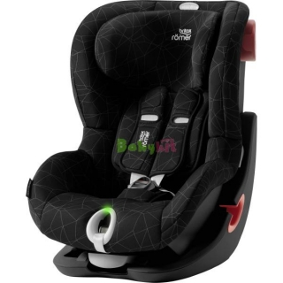 Autosedačka Britax Römer King II LS Black Series - Crystal Black