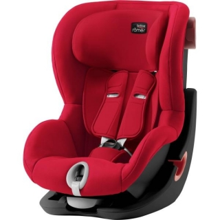 Autosedačka Britax Römer King II Black Series - Fire Red
