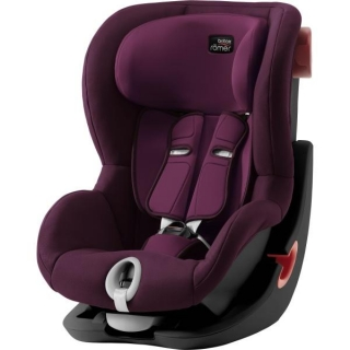 Autosedačka Britax Römer King II Black Series - Burgundy Red