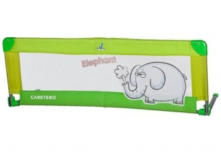 Mantinel do postýlky Caretero Elephant - Zelený